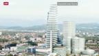 Video «Roche investiert und baut 205-Meter-Hochhaus» abspielen