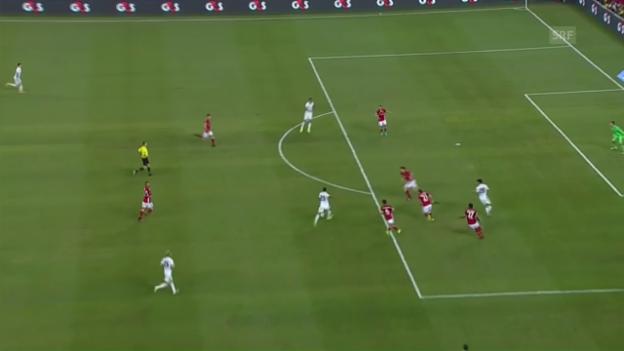 Video «Danilo schiesst Real zum Testspielsieg über die Bayern» abspielen