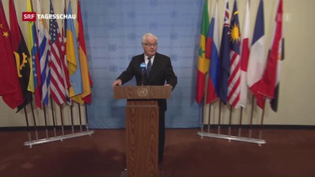 Video «UNO-Sicherheitsrat stimmt Syrien-Resolution zu» abspielen