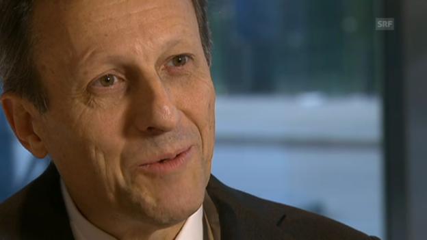 Video «Daniel Vasella zu seinen Tätigkeiten nach seinem Rücktritt» abspielen