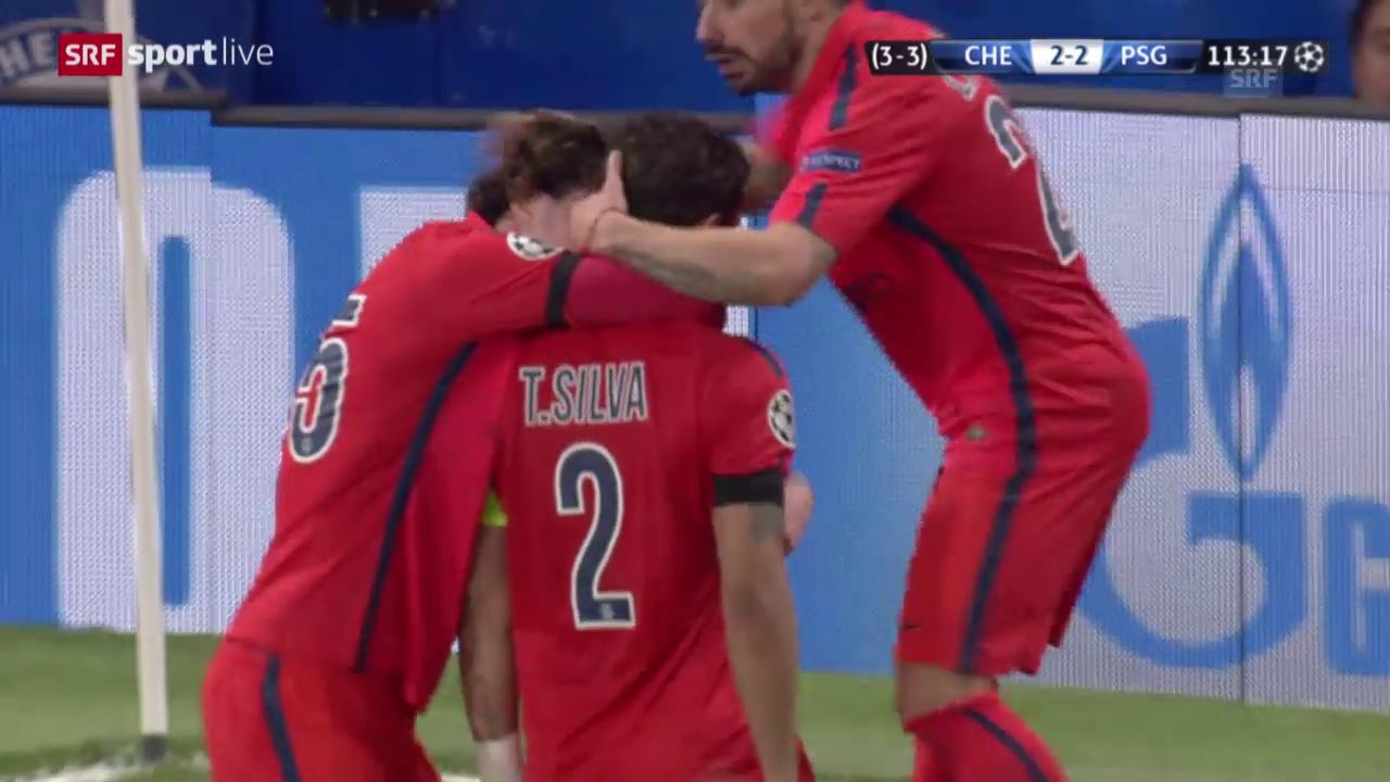 Fussball: Champions League, Achtelfinal-Rückspiel, Chelsea - Paris SG