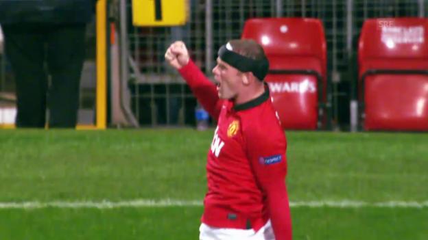 Video «Fussball: CL-Viertelfinals, Bayern - ManUnited, Rooney vor dem Rückspiel» abspielen
