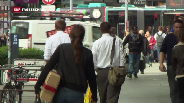 Video «Über 260'000 Menschen in der Schweiz beziehen Sozialhilfe» abspielen