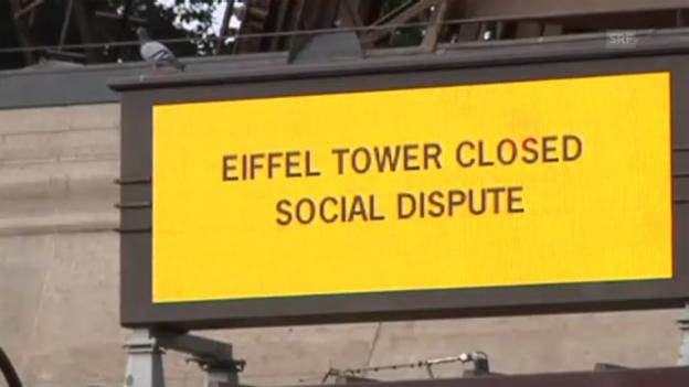 Video «Streik am Eiffelturm» abspielen