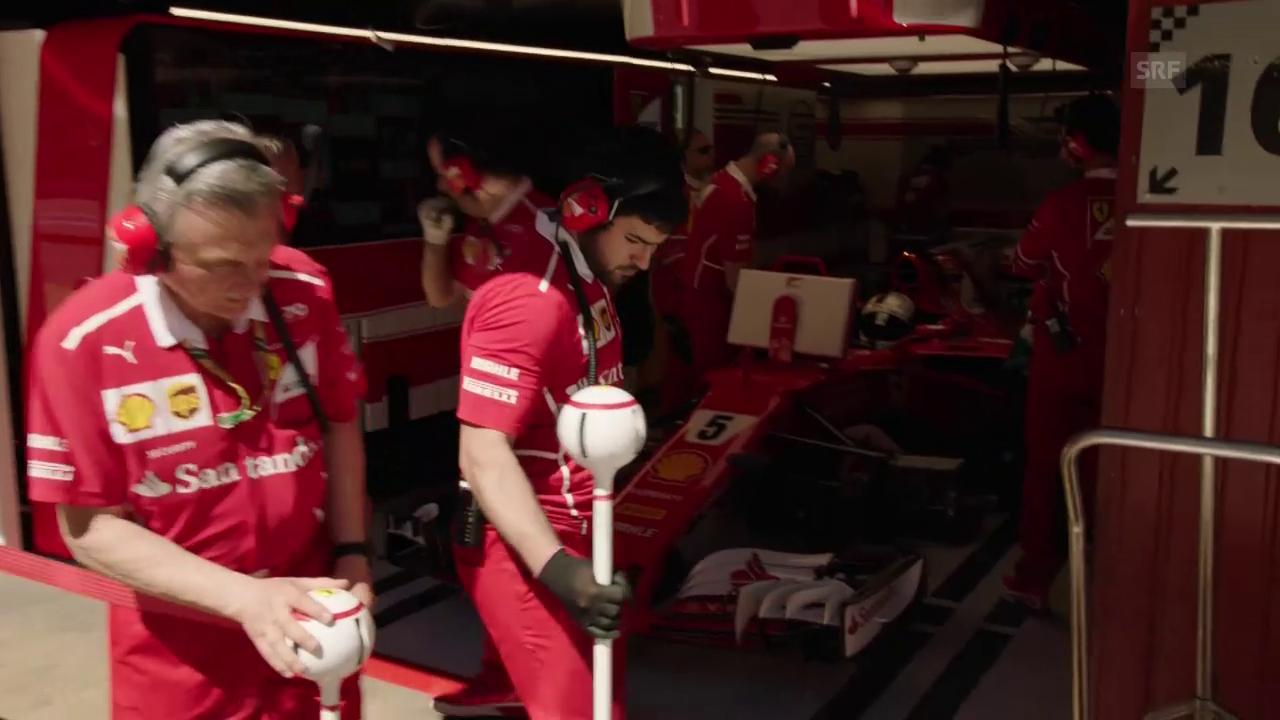 «Das erinnert an die grossen Ferrari-Zeiten mit Clay Regazzoni»