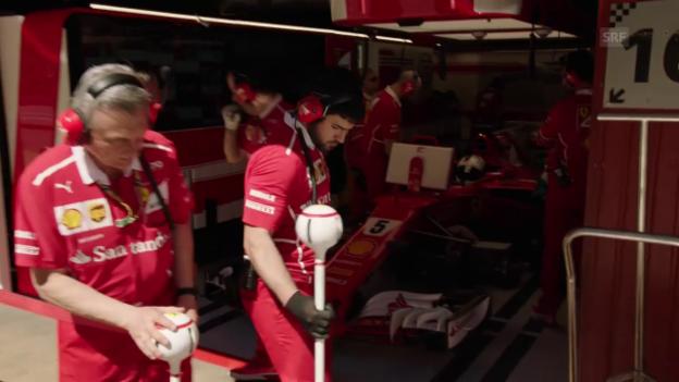Video ««Das erinnert an die grossen Ferrari-Zeiten mit Clay Regazzoni»» abspielen