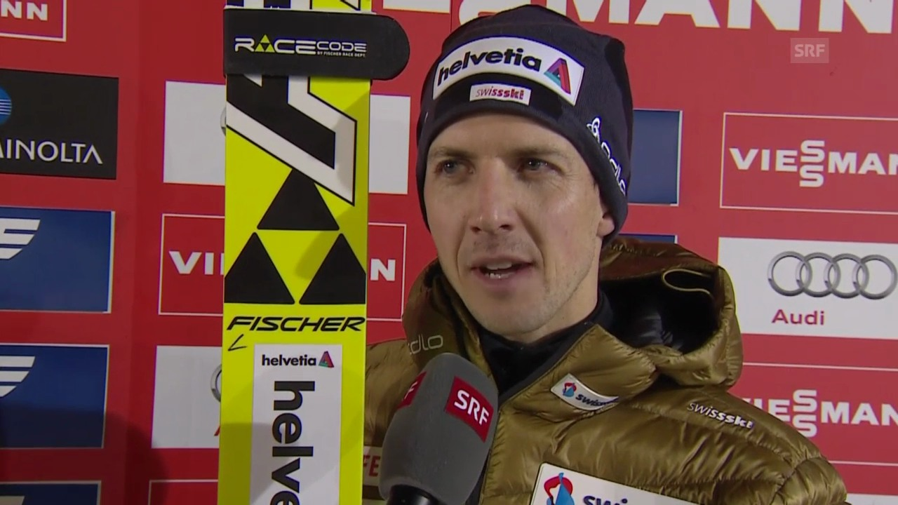 Skispringen: Weltcup Ruka-Kuusamo, Interview Ammann