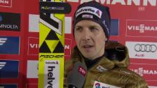 Video «Skispringen: Weltcup Ruka-Kuusamo, Interview Ammann» abspielen