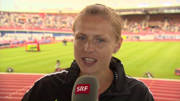 Video «Stepanowa: «Es ist eine Ehre, hier zu sein» (engl.)» abspielen
