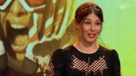Video «Sports Awards: Dominique Gisin ist «Sportlerin des Jahres»» abspielen