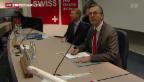 Video «Christoph Franz wird neuer VR-Präsident von Roche» abspielen