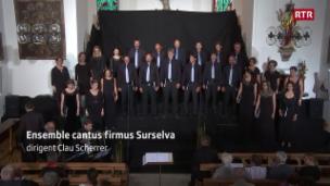 Laschar ir video «Ensemble Cantus Firmus Surselva: concert da festa»