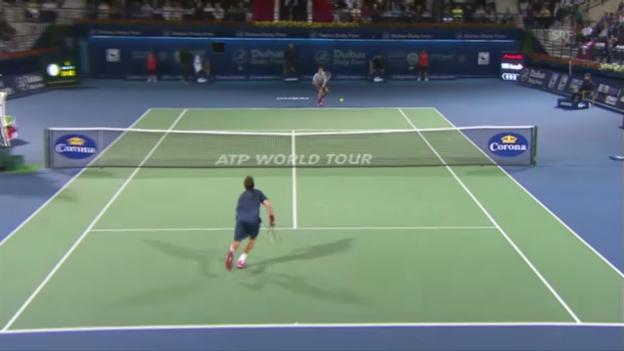 Video «Federer - Granollers» abspielen