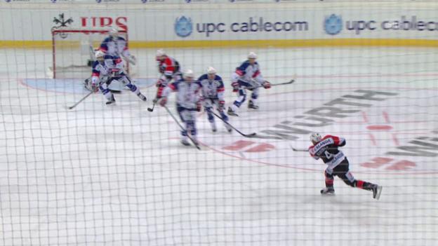 Video «Eishockey: Spengler Cup, Jekaterinburg - Mannheim» abspielen