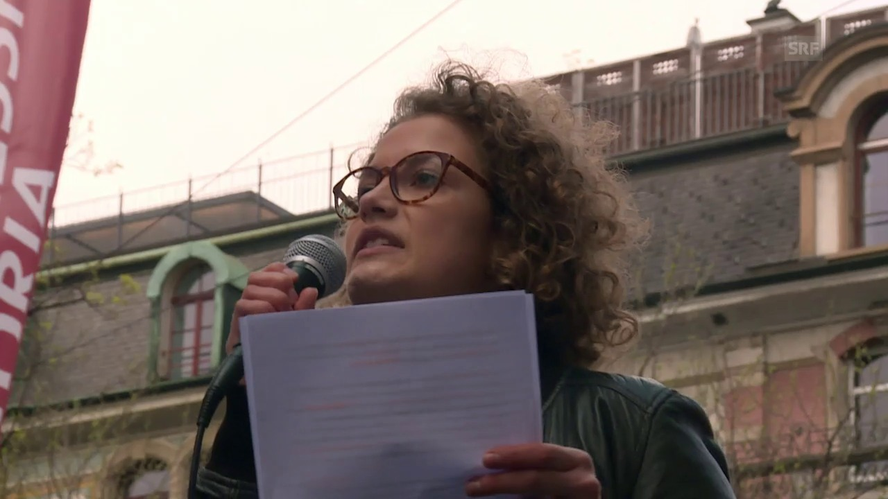 Judith Schmutz, Co-Präsidentin der Jungen Grünen