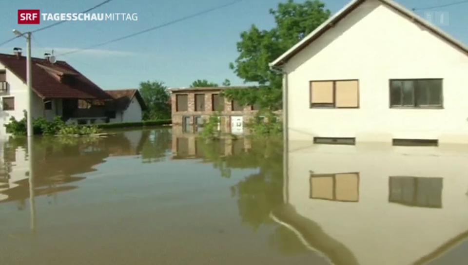 Balkan: Kampf gegen das Wasser und die Zeit