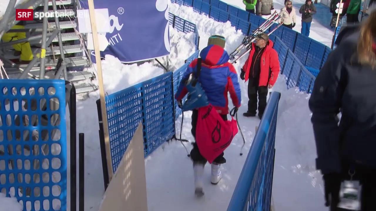 Ski: Die Verletzung von Dominique Gisin