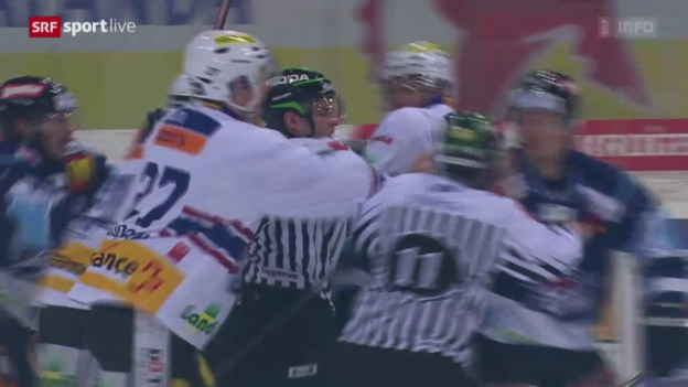 Video «Eishockey: Playout-Final, Lakers - Biel» abspielen