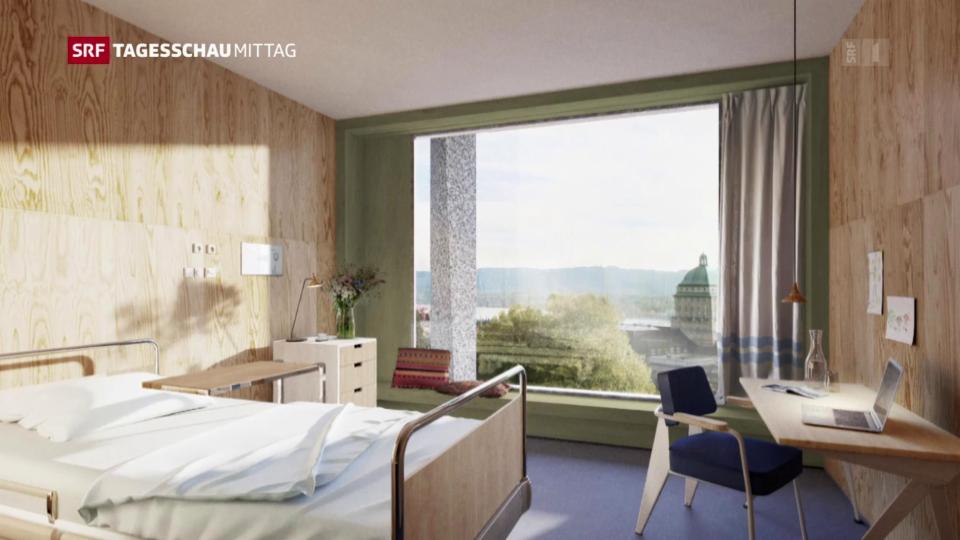 Unispital Zürich setzt auf Einzelzimmer
