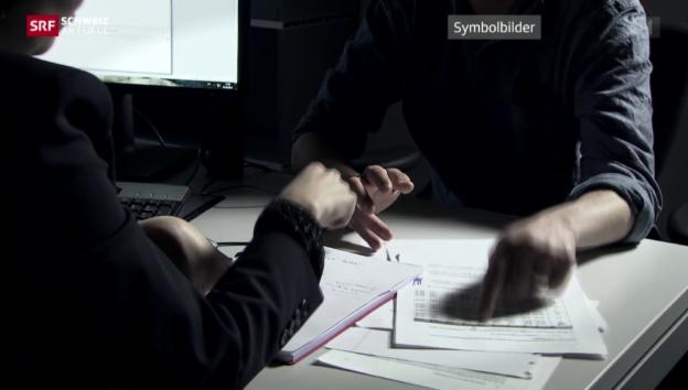 Video «Gewalt gegen Beamte» abspielen