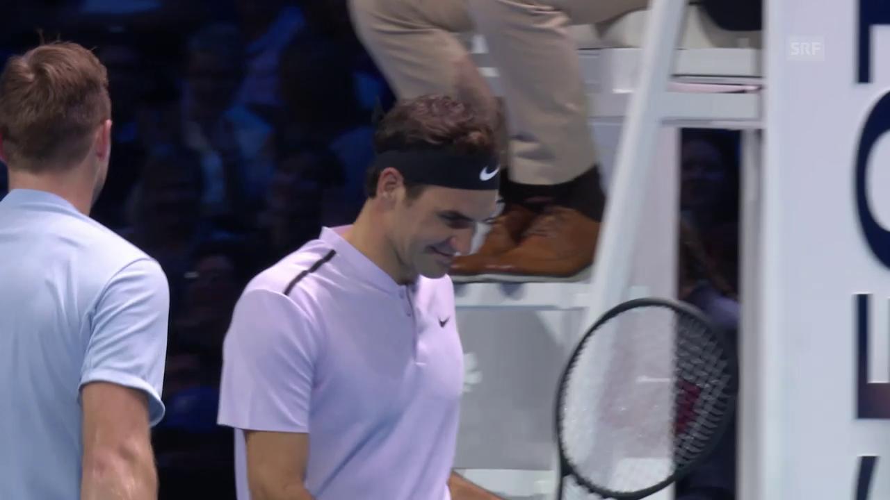 Zusammenfassung lang Federer - Sock