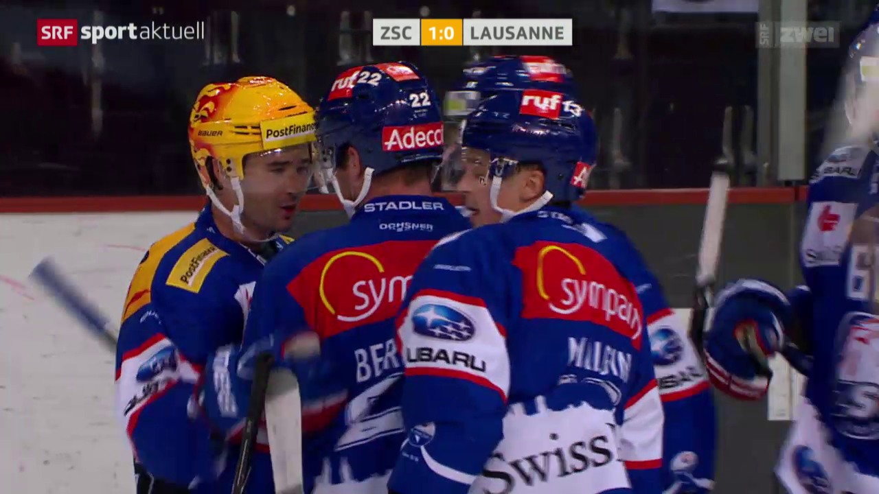 Eishockey: ZSC Lions - Lausanne