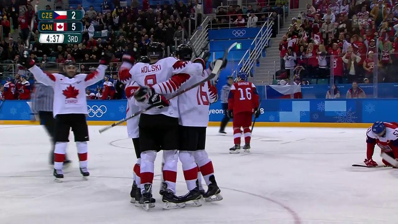 Kanada sichert sich Olympia-Bronze