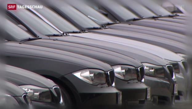 Video «Weko eröffnet Untersuchung gegen Autoleasing-Firmen» abspielen