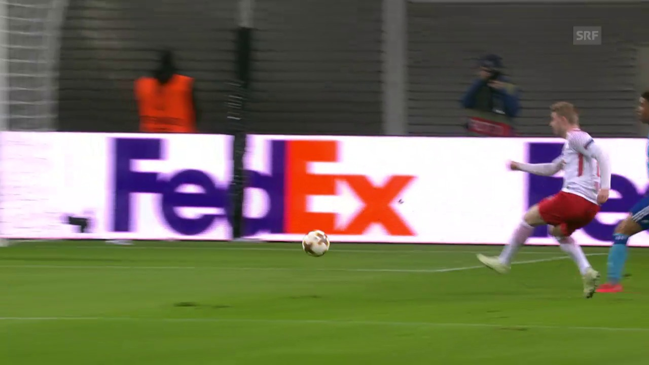 Leipzig bezwingt Olympique Marseille
