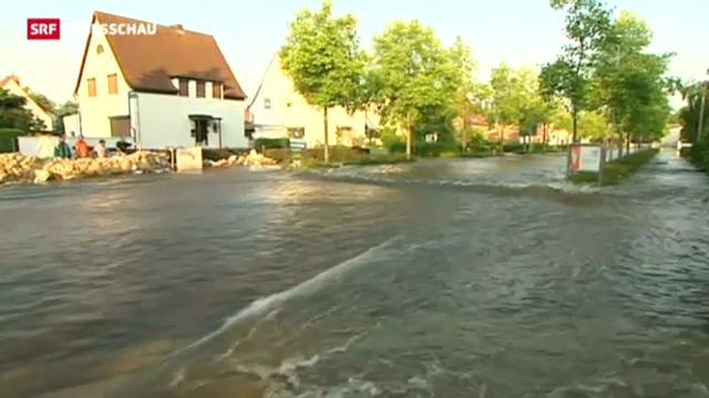 Hochwasser in Ostdeutschland und Ungarn