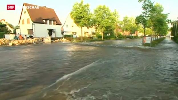 Video «Hochwasser in Ostdeutschland und Ungarn» abspielen