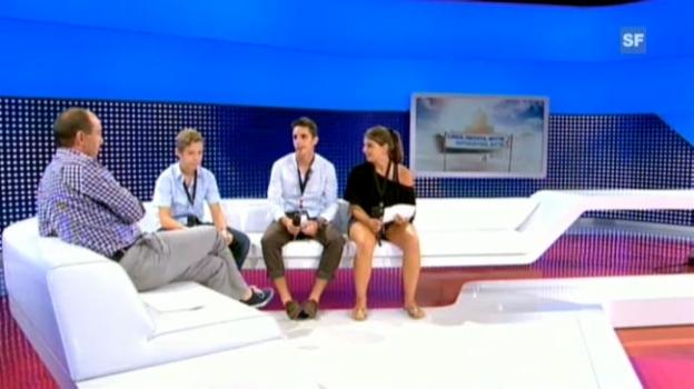 Video «Das ganze Interview der Sek-Klasse aus Hinterkappelen» abspielen