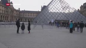 Video «Attacke vor Louvre» abspielen