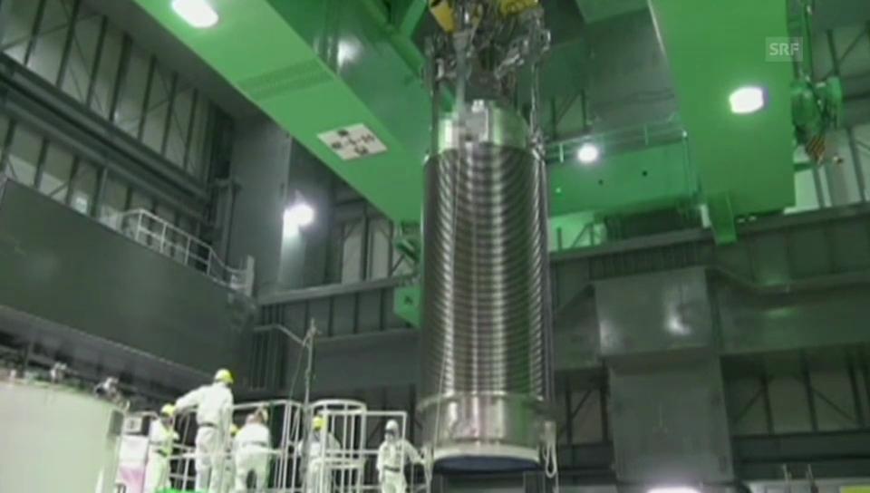 Bergung der Brennstäbe in Fukushima