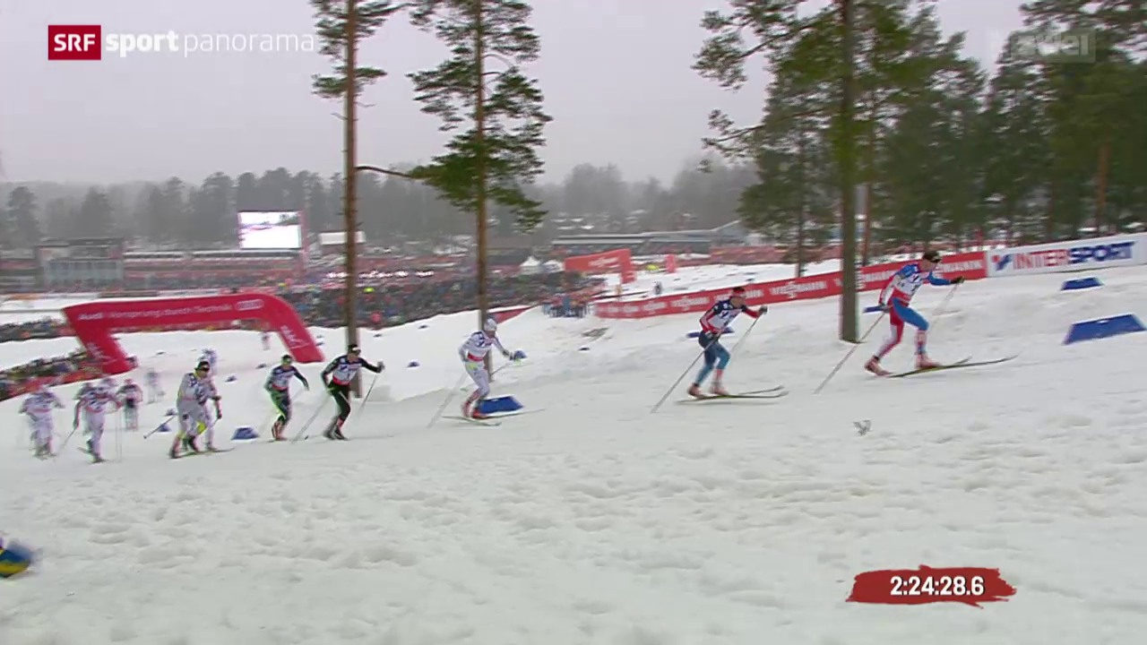 Langlauf: WM in Falun, 50 km Männer