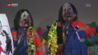 Video «Basler Fasnachts-Szene feiert» abspielen