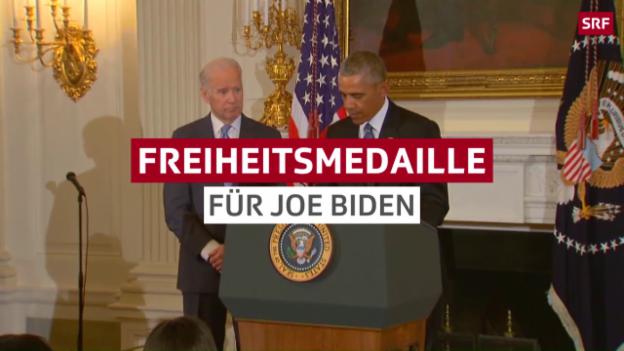 Video «Überraschung für den US-Vize» abspielen