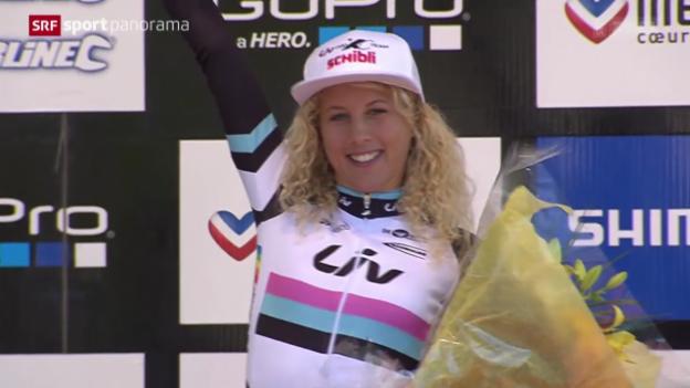 Video «Mountainbike: Weltcup-Finale in Méribel» abspielen