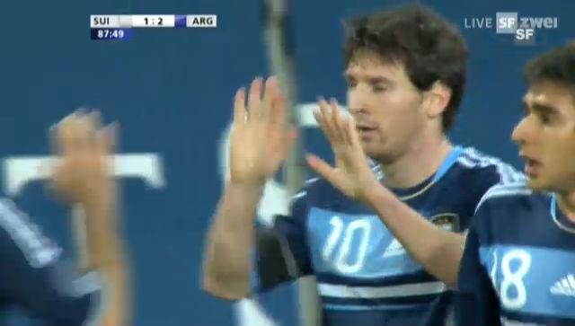 Tore Schweiz - Argentinien