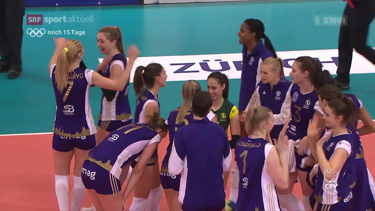 Volleyball: Volero in der Champions League