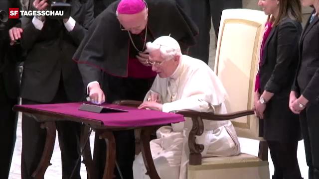 Twitternder Papst