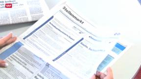 Video «Arbeitslosenquote bleibt gleich hoch» abspielen