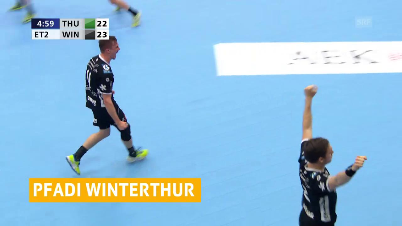 Knappes 1. Finalspiel zugunsten von Winterthur