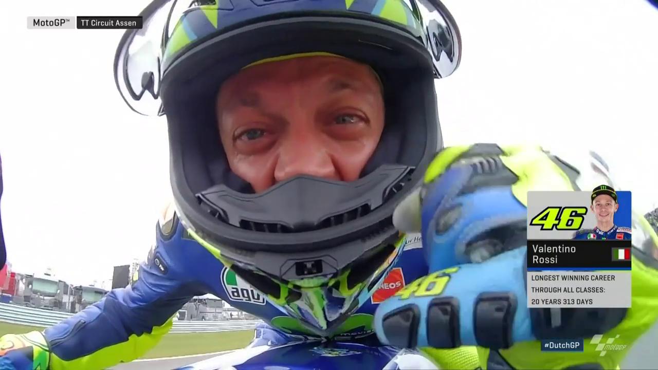 Rossi ist zurück auf der obersten Podeststufe