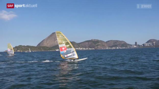 Video «Surfen: Mateo Sanz Lanz erfüllt Olympia-Norm» abspielen