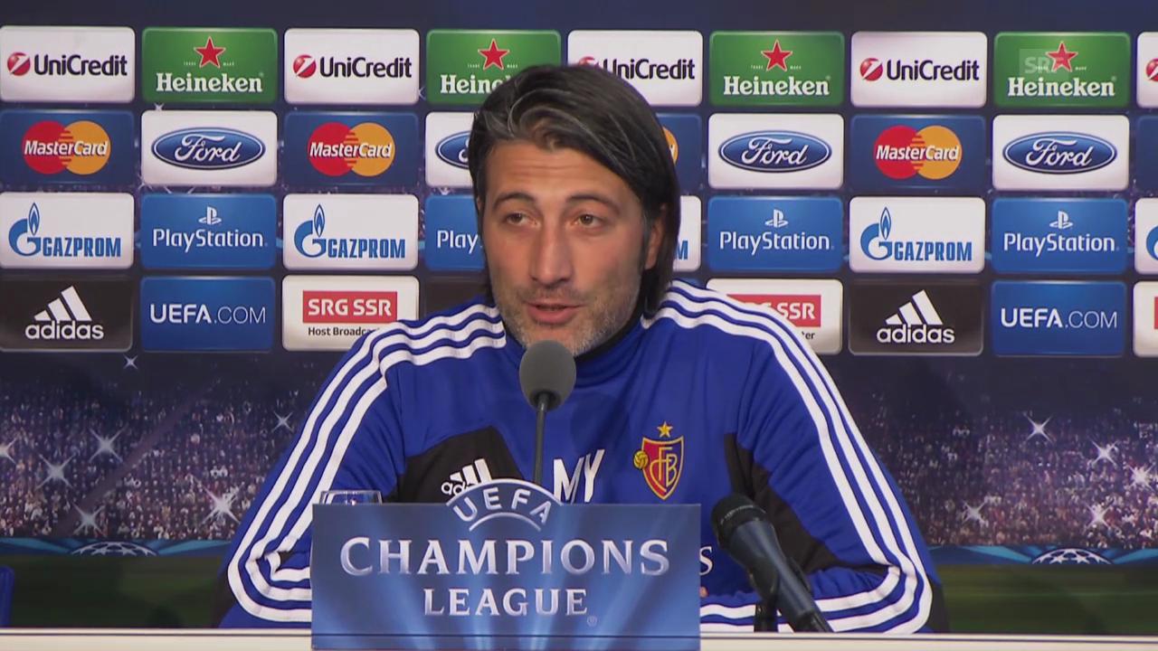 Murat Yakin vor dem Spiel gegen Schalke