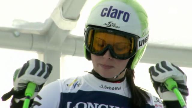 Ski-WM: Kombi-Abfahrt von Anna Fenninger