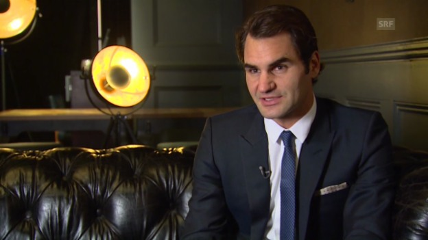 Video «Tennis: Roger Federer vor den World Tour Finals» abspielen