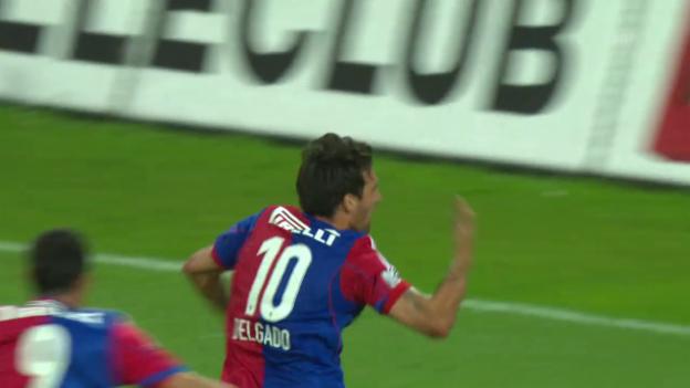 Video «Delgados Tor im Meisterschaftsfinale 2014 gegen Aarau» abspielen