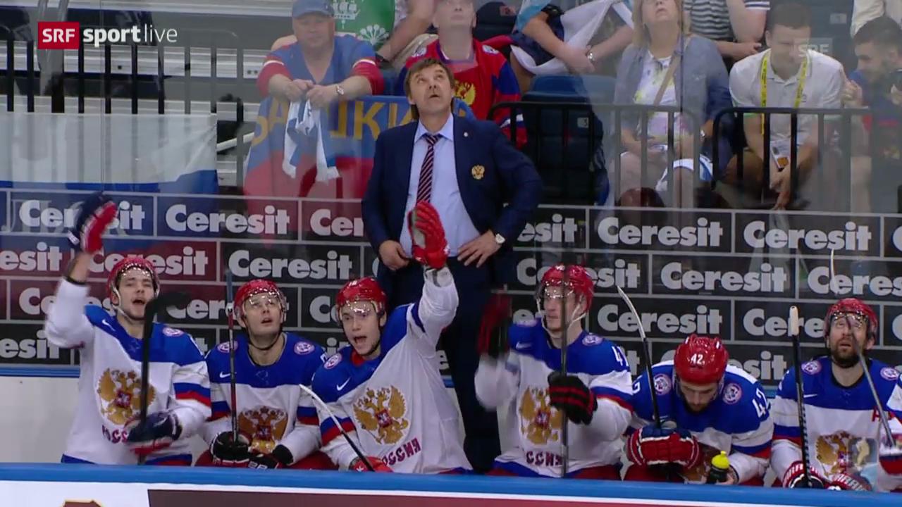 Eishockey: Russland - Frankreich